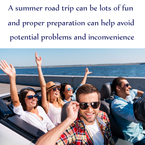 Taking a Summer Road Trip? Avoid a Breakdown with this Vehicle Checklist!